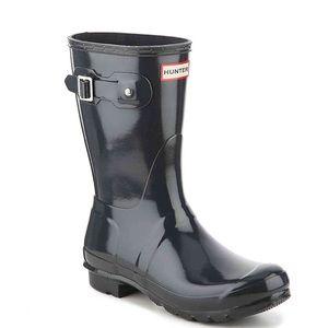 Original Short Gloss Packable Rain Boot HUNTER